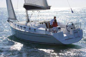 sailing boat in sea