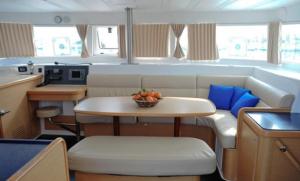 sailing boat living room