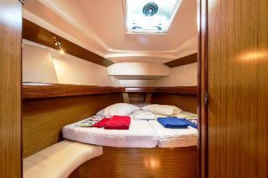 sailing boat interior